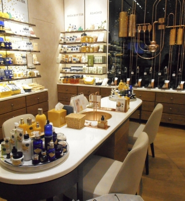 "Display counters L'Occitane"" shop at IFC Mall (Hong Kong)"