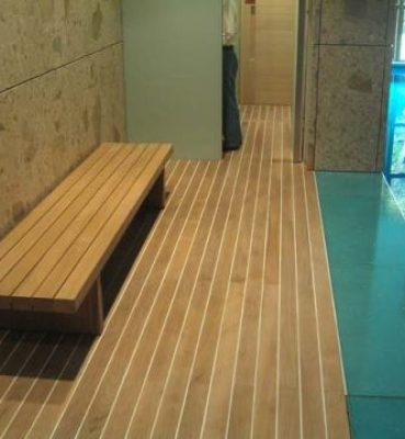 Swimming-pool in a private residence at Tokyo (JAPAN)