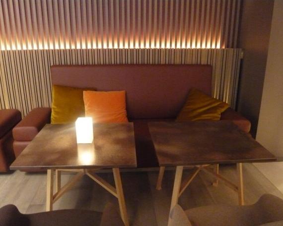 Tables for Hermès Shop Café at Dosan Gangnam (SEOUL)